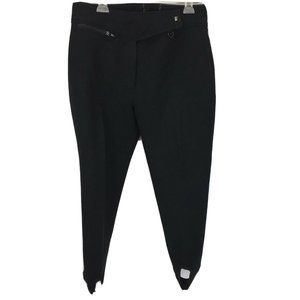 Obermeyer Women's Wool Snow Pants 14 Short Black